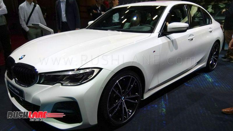 2019 Bmw 3 Series Luxury Sedan Debuts In Paris India Launch Next Year