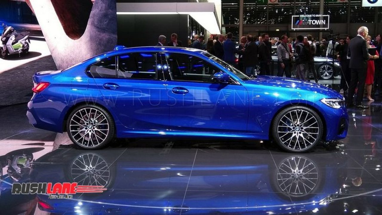 2019 Bmw 3 Series Luxury Sedan Debuts In Paris India Launch Next Year