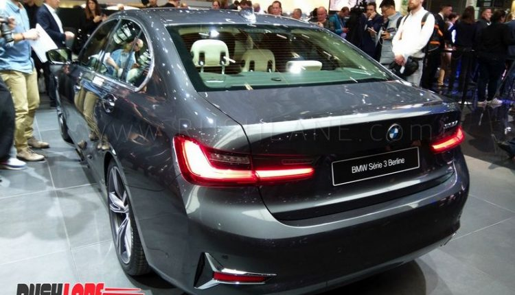 2019 bmw 3 series luxury sedan debuts in paris