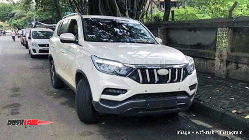 7 Passenger Suv >> Mahindra Alturas G4 is the name of XUV700 - Bookings open ...