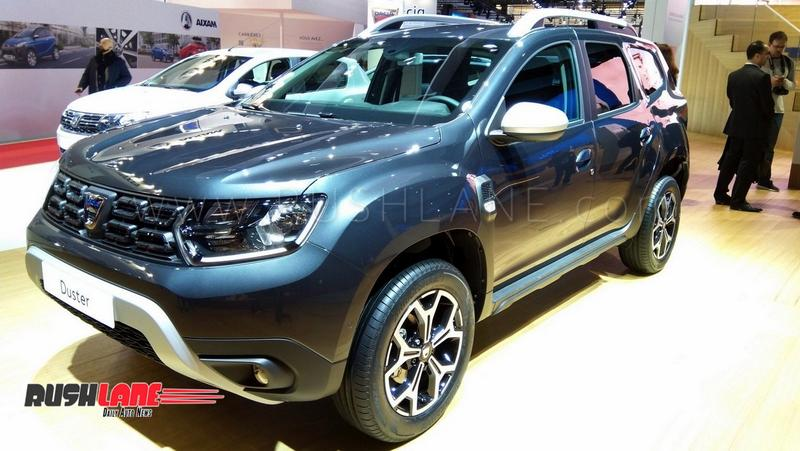 2019 Renault Duster with 1.3 L petrol engine showcased – Made in  association with Mercedes 4a1cb45ffdcf