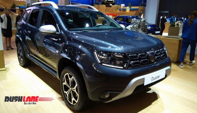 2019 Renault Duster With 1 3 L Petrol Engine Showcased