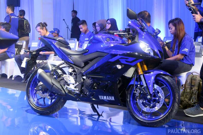 2019 Yamaha R25 Makes Global Debut India Launch Expected Next Year