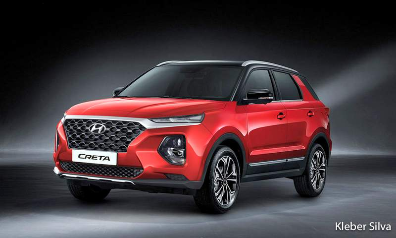 2020 Hyundai Creta Rendered Ahead Of Launch To Get 5 And 7 Seater