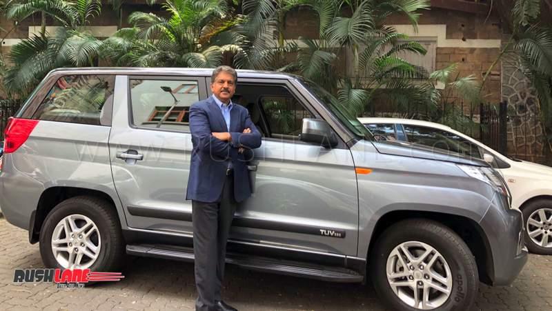 Anand Mahindra car
