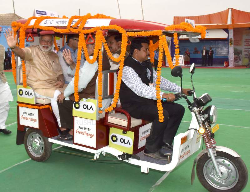 India is home to 15 lakh electric rickshaws - More than