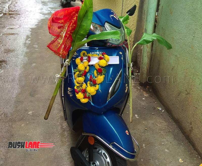 Honda Activa 6G in the making - To get Fuel Injection