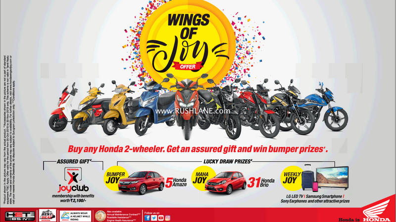 Country Auto Sales >> Honda Activa Diwali 2018 offer announced - Buying 1 could ...