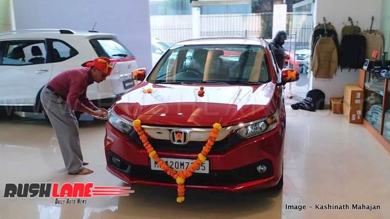Honda Amaze Sales Help Company Register Growth In Dec 2018