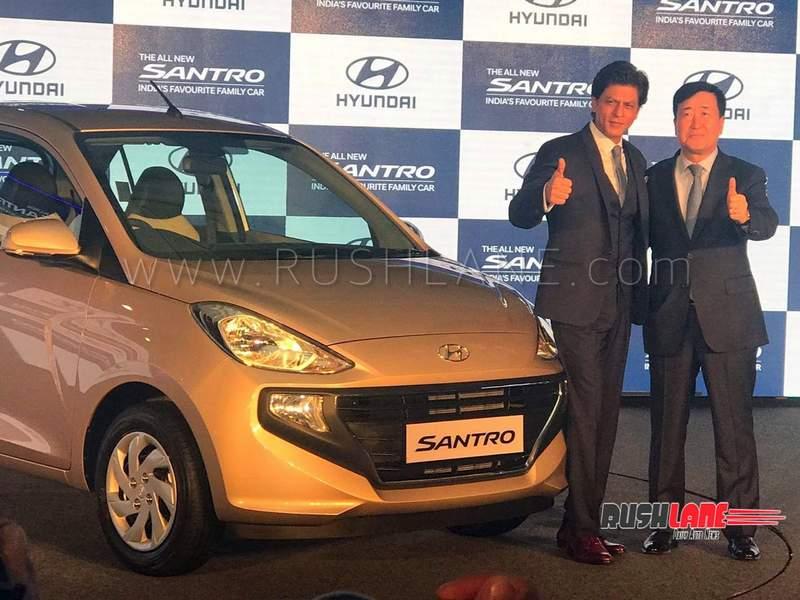 Hyundai Santro Prices Rs 3 9 L To Rs 5 65 L Tata Tiago Rival Has