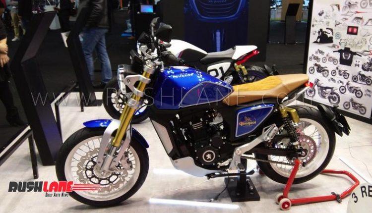 Mahindra Mojo based Peugeot concept