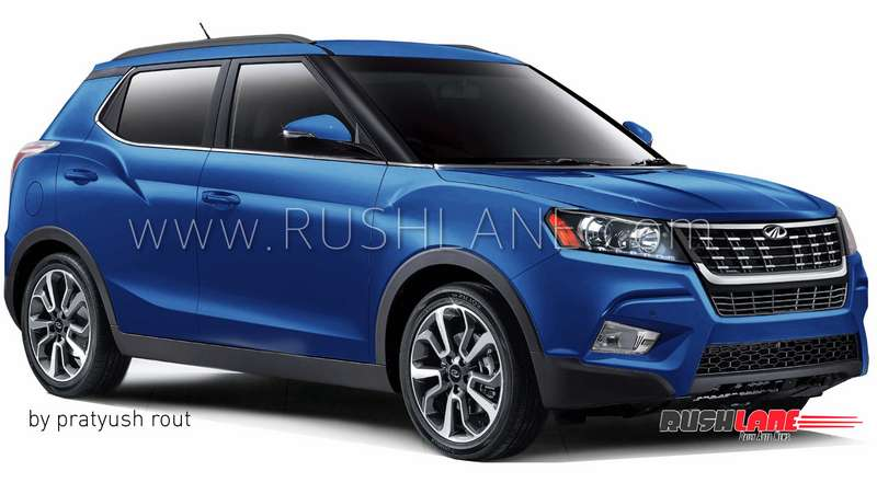Mahindra Xuv300 Suv Official Name Announcement On 19th Dec
