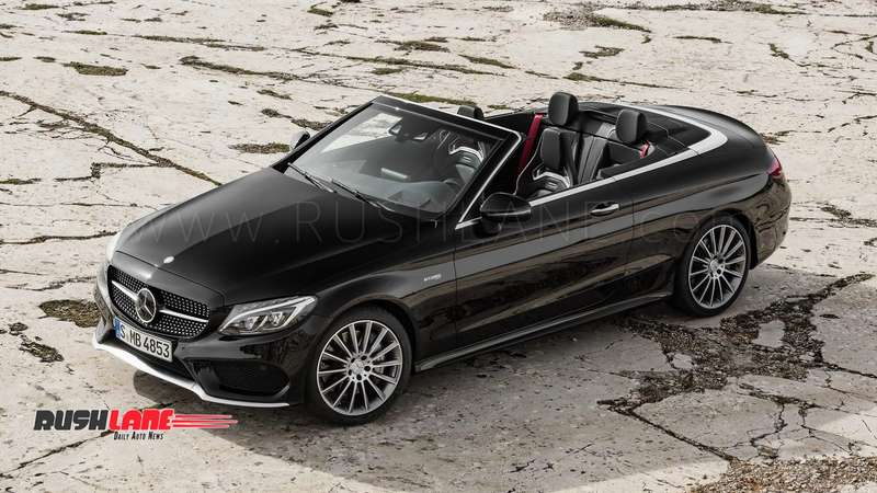New Mercedes Benz C Class Open Top Luxury Sedan Launched In India