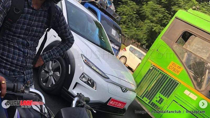 Future of mobility - Hyundai Kona and MG EZS electric SUV