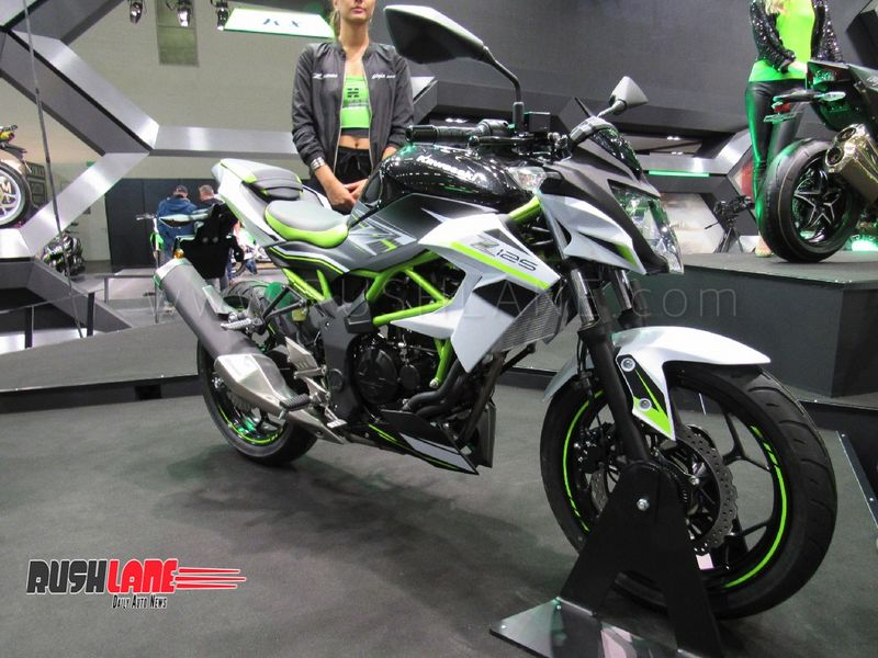 kawasaki ninja 125 and z125 entry level sports bikes