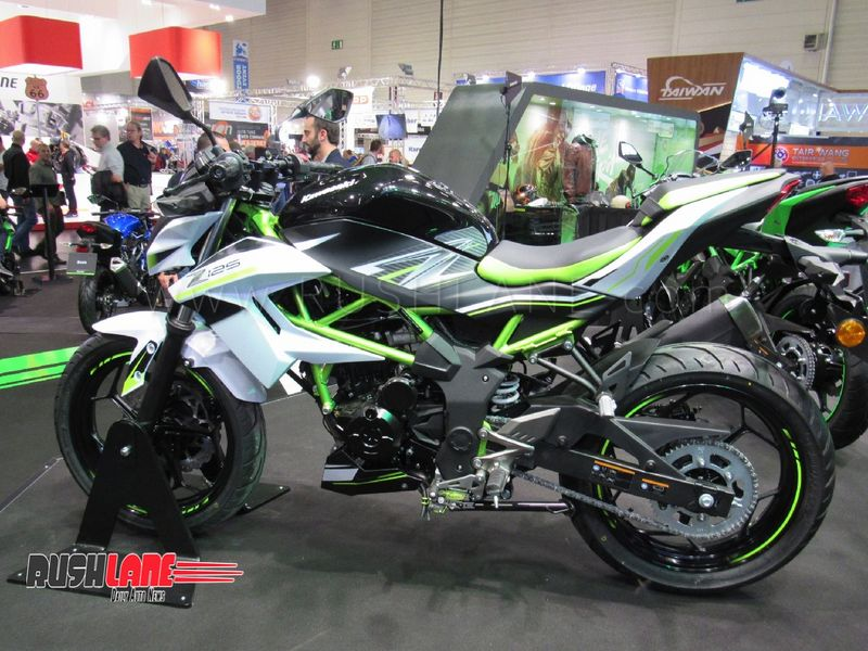 Kawasaki Ninja 125 And Z125 Entry Level Sports Bikes Showcased At