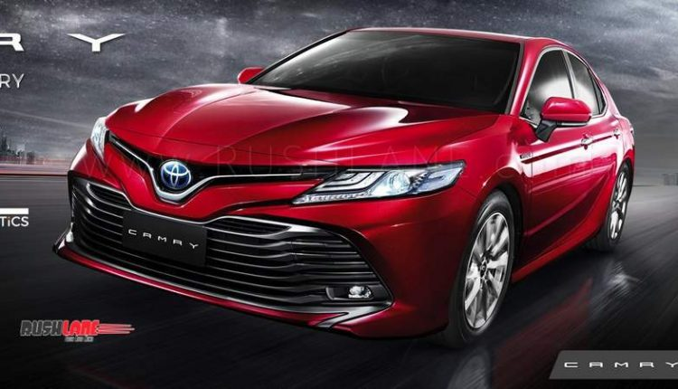 New Toyota Camry Hybrid Debuts India Launch Soon To