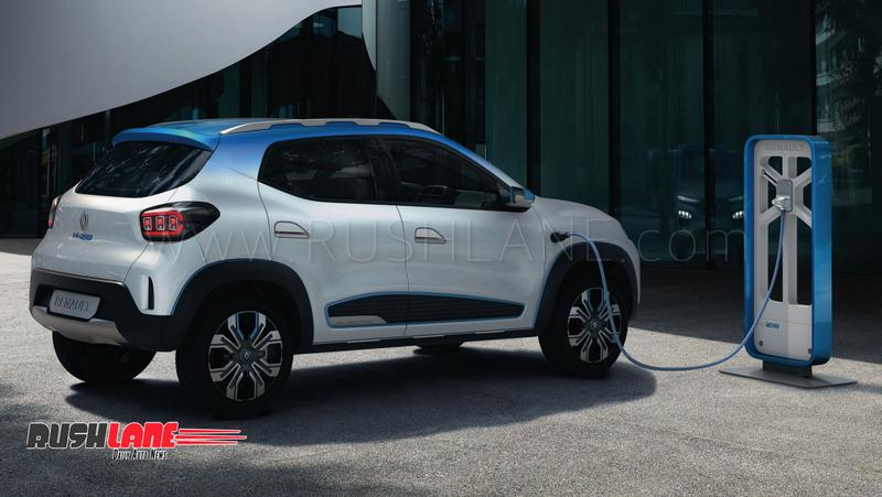 Renault Kwid electric car showcased as SUV inspired ...