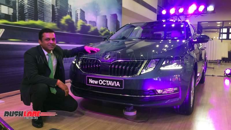 Skoda Octavia Rs >> Skoda Octavia gets Audi-style Virtual Cockpit in India on ...
