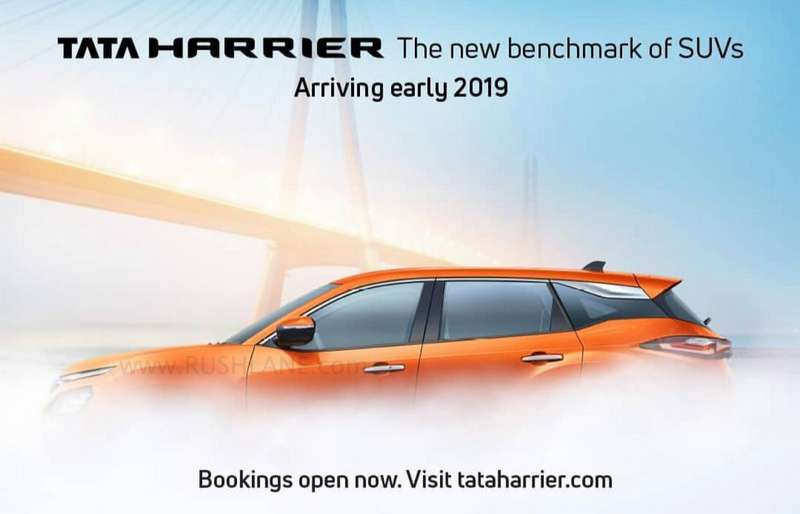 Tata Harrier Side Profile Revealed Looks Inspired By