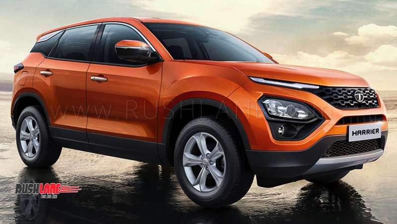 Tata Harrier production starts officially - 1st SUV rolls ...