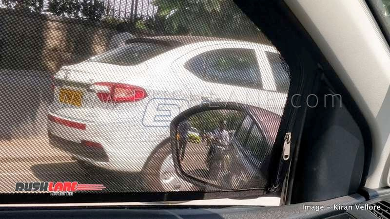 Tata Tigor Electric Car Spotted With Yellow Number Plate In Hyderabad