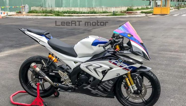 Yamaha R15 modified to look like Rs 85 L worth BMW S1000RR ...