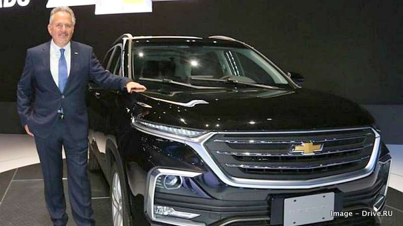 2019 Chevrolet Captiva SUV debuts - Based on India bound ...