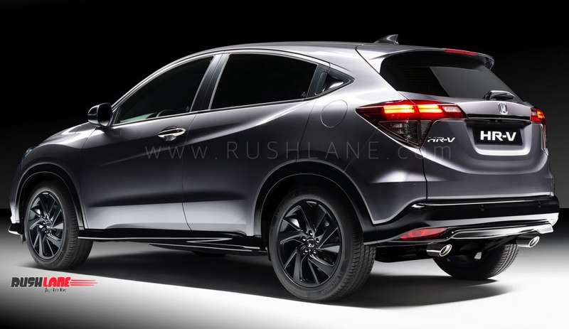 Honda Hrv To Borrow Petrol And Diesel Engine Options From