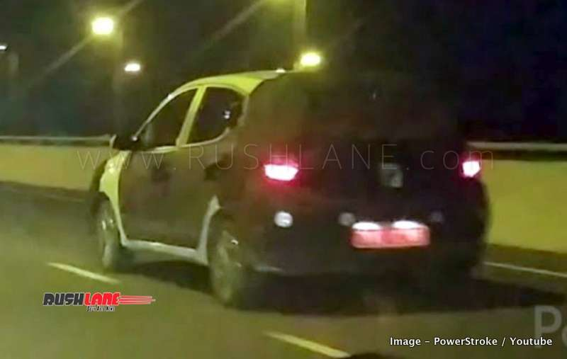 2019 Hyundai Grand I10 Spied Doing High Speed Test At 130 Kmph Video