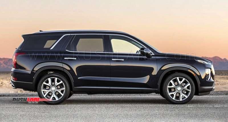 2019 3 Row Suv >> Hyundai Palisade SUV debuts - Gets 3 rows, 8 seats, 20 inch tyres