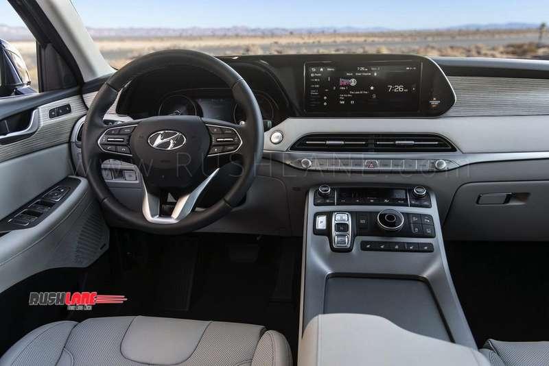 Cars With 3 Rows Of Seats >> Hyundai Palisade SUV debuts - Gets 3 rows, 8 seats, 20 ...