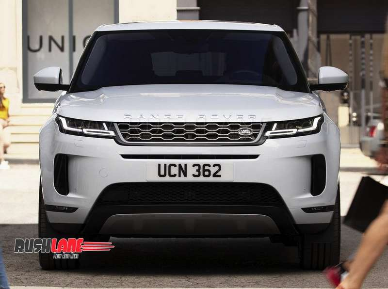 New Range Rover Evoque Suv Debuts With Velar Looks 2019 Launch For