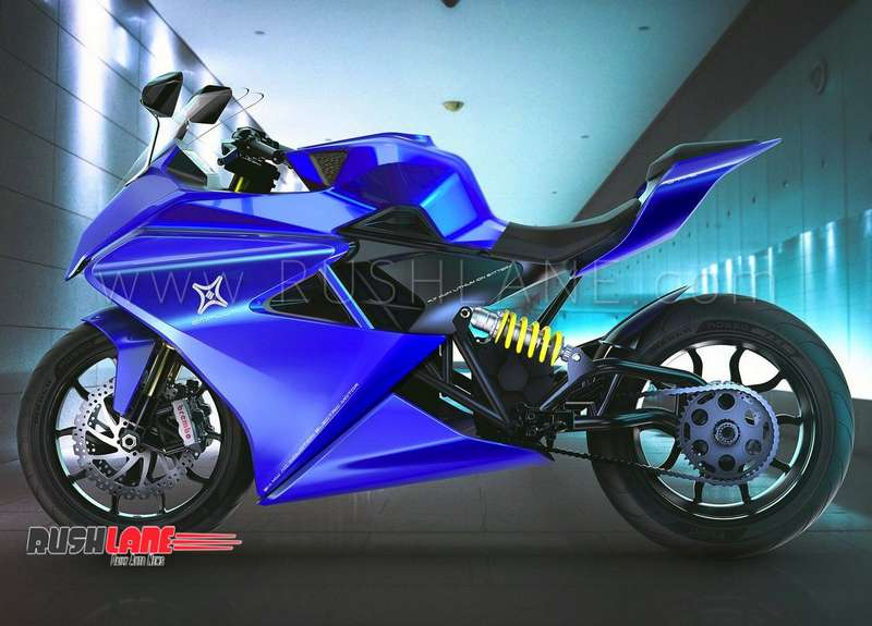 Electric Sports Bike >> Emflux One Gets Design Update India S First Electric
