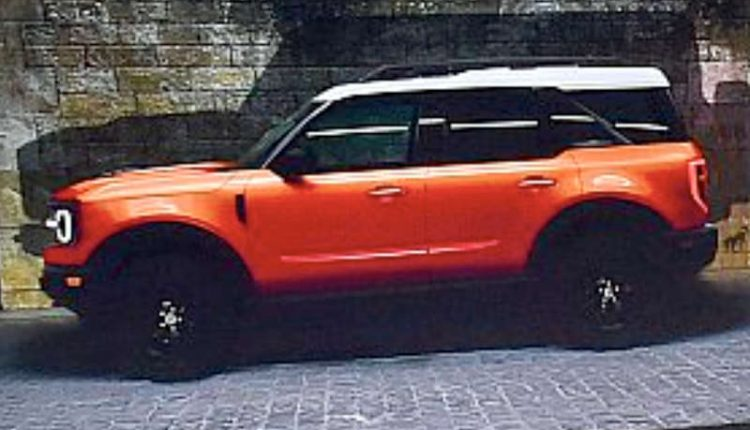 ford bronco suv leaked ahead of debut