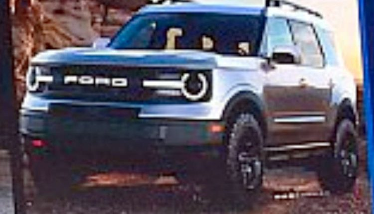 ford bronco suv leaked   debut   based  endeavour