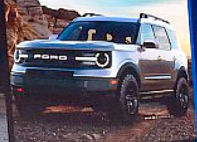 Ford Bronco SUV leaked ahead of debut - Could be based on Endeavour