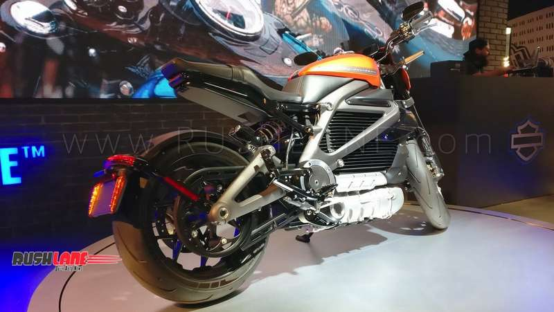 Harley Davidson Electric Motorcycle Showcased In Production Ready Form
