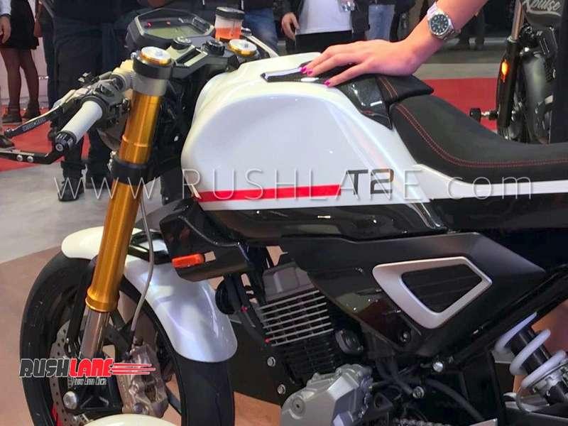 Hero Xpulse 200 Cafe Racer Concept Debuts At 2018 Eicma