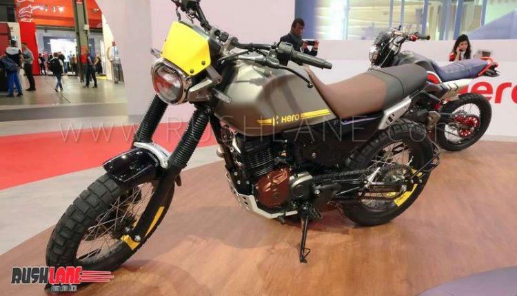 Hero XPulse 200 Scrambler Concept showcased - Aims to be ...