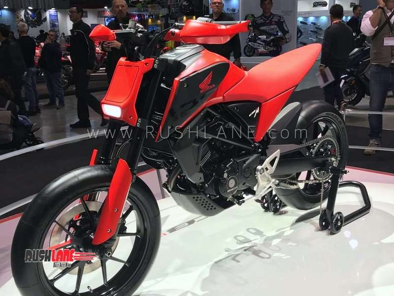 new honda 125cc motorcycles showcased at eicma as future. Black Bedroom Furniture Sets. Home Design Ideas