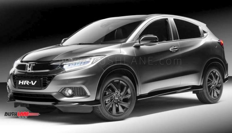 Honda Hrv Sport Edition Gets All Black Treatment Suzuki