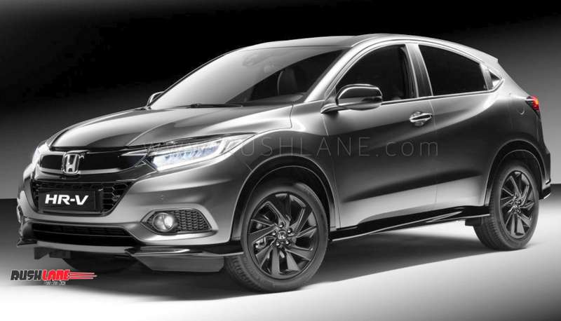 Honda Hrv Suv Showcased To Dealers In India Ahead Of Launch This Year