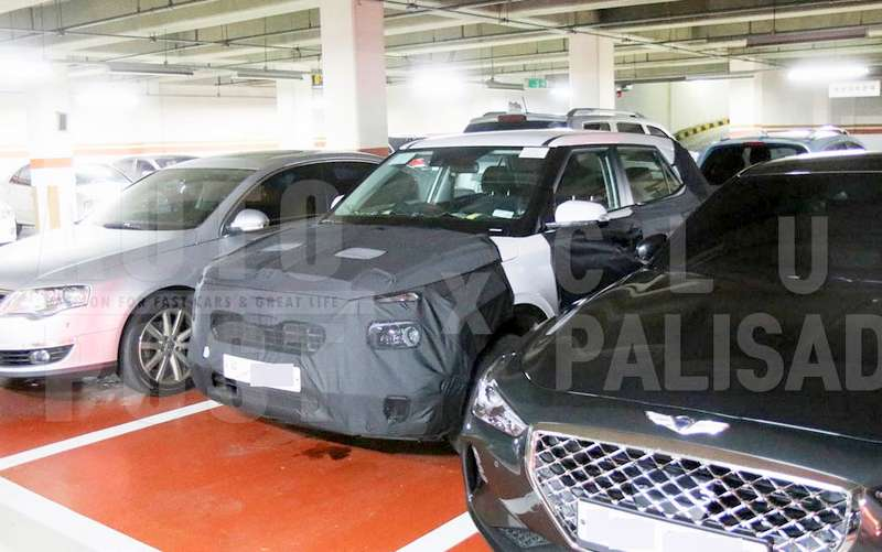 Hyundai Carlino Suv Is A Smaller Creta In Size Spied Inside Out
