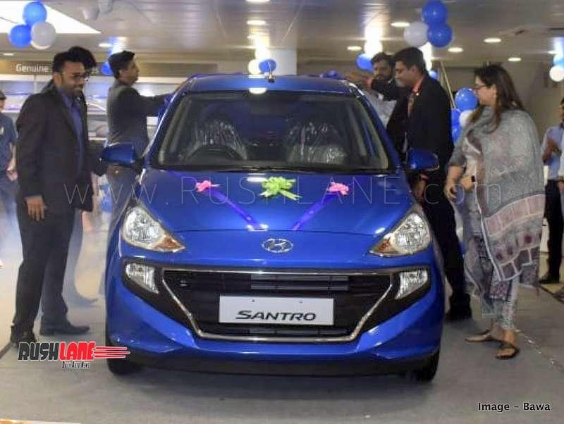 Hyundai Santro Sales Higher Than Tata Tiago Maruti Celerio In Nov 2018