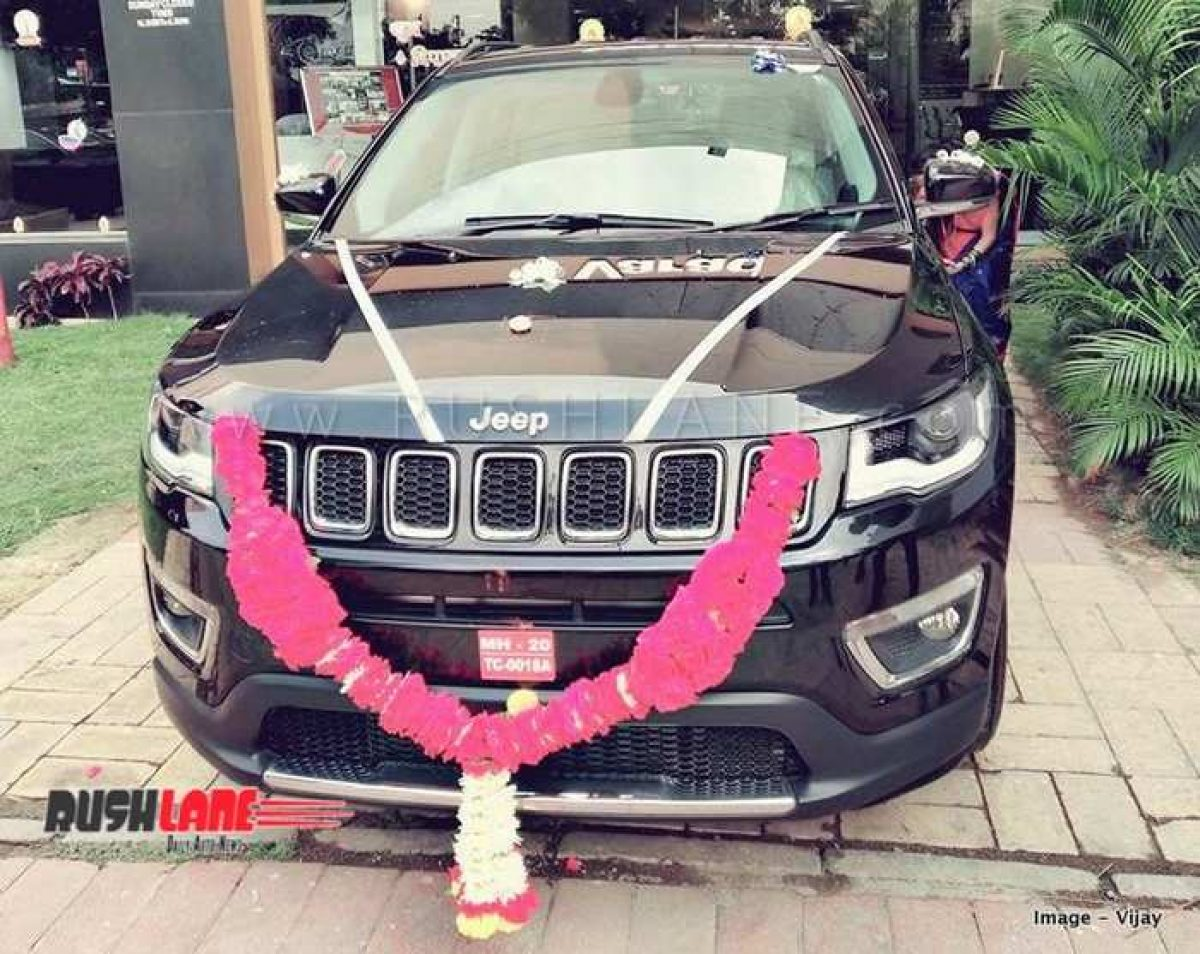 New Jeep Compass Suv From 2018 Sold By Dealers At Rs 1 L Discount