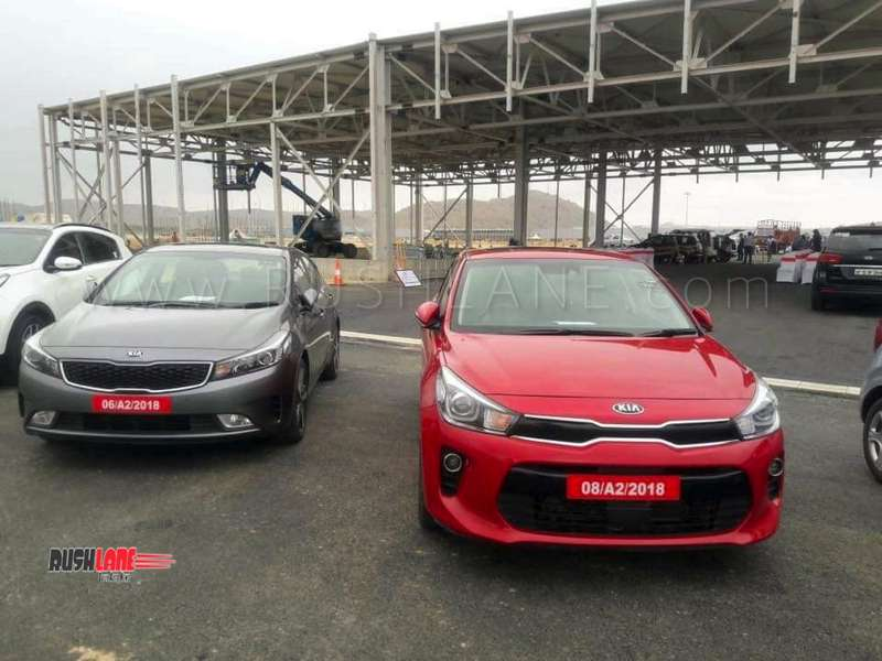 Kia Cars Showcased To Dealers In India At Company Plant Site