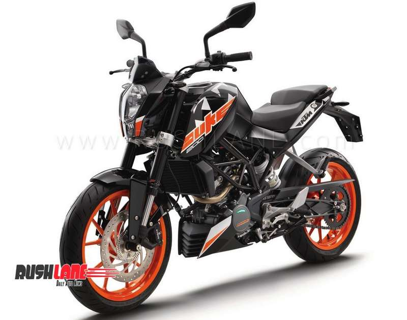2018 KTM Duke 200 ABS launch price Rs 1 6 L - Rs 9K expensive than