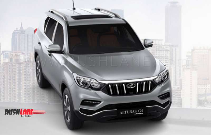 Mahindra Alturas Suv Revealed Before Launch 5 Colours On Offer Rs