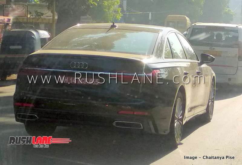 New Audi A6 Spied In India Bmw 5 Series Mercedes E Class Rival